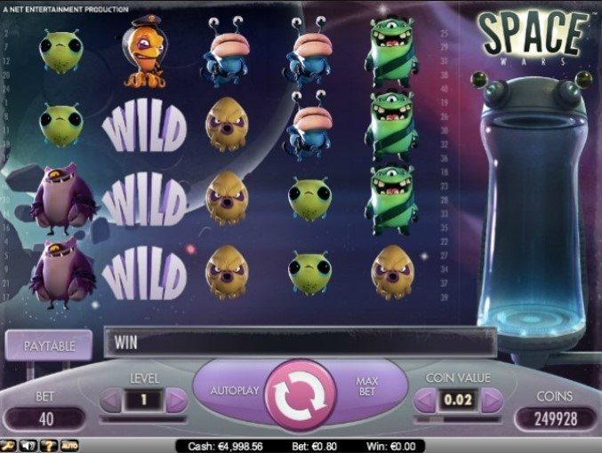 Space Wars игровой автомат